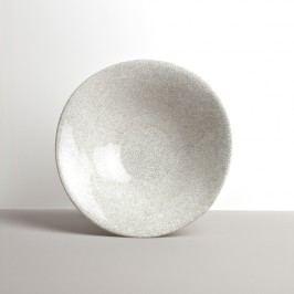 Veľká misa bielo-šedá 24 cm