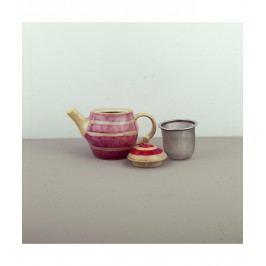 Čajová kanvica so sitkom Teacup sladká červená