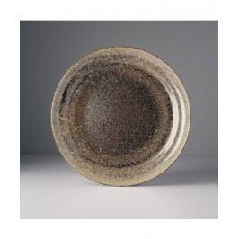 Guľatý tanier kávová pena 26cm