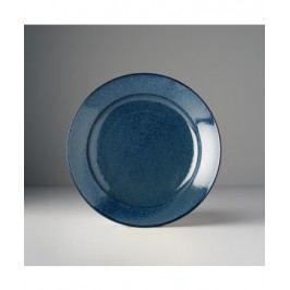 Guľatý tanier Indigo Blue 23x4 cm