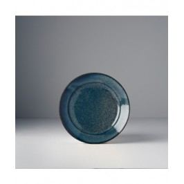 Guľatý tanier Indigo Blue 17x3 cm