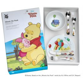 WMF Detský príbor 7 ks súprava Medvedík Pú Disney