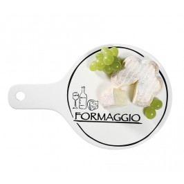 Porcelánový tanier na syry s rukoväťou  Formaggio Cilio 20,5 cm