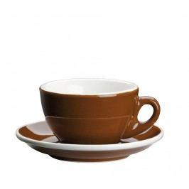 Cilio Šálka na cappuccino s podšálkou Roma hnedá 100 ml
