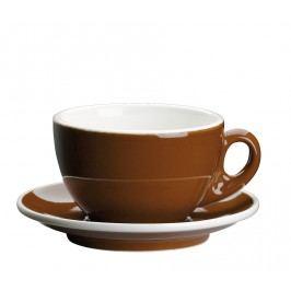 Cilio Šálka na cappuccino s podšálkou Roma hnedá 200 ml