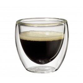 Cilio Set sklenených šálok na espresso 80 ml 2 ks