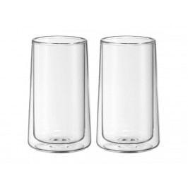 Cilio Set sklenených šálok na ľadový čaj Ice Tea Time WMF 270 ml 2 ks