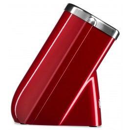 Blok na nože KitchenAid červená metalíza, na 10 nožov