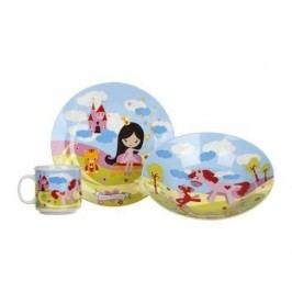 Detský jedálny set Malá princezná Banquet 3 ks