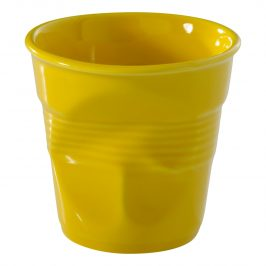 REVOL Téglik na cappuccino 18 cl žltá Seychely Froissés
