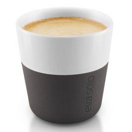 Eva Solo Termošálky na espresso 80 ml 2 kusy karbónovo čierna