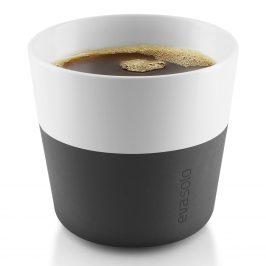 Eva Solo Termohrnčeky na kávu Lungo 230 ml 2 kusy karbónovo čierne