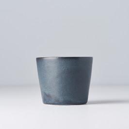 MIJ Hrnček bez ucha RAMEKIN modro-čierny 200 ml