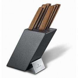 Sada nožov s blokom a vidlicou 6-dielna Victorinox Swiss Modern