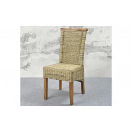 Sconto Jedálenská stolička PERTH prírodná/ratan