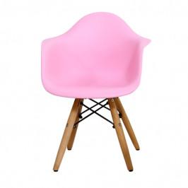 Sconto Detská stolička MINNIE ružová