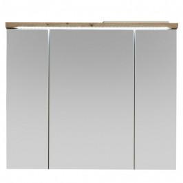 Sconto Zrkadlová skrinka POOL dub artisan, 80 cm