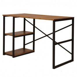 Sconto Písací stôl ATHENA borovica atlantic/čierna