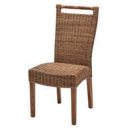 Sconto Jedálenská stolička CALLISTA prírodná/ratan