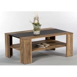 Sconto Konferenčný stolík DAKOTA orech satin/touchwood