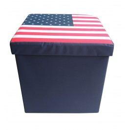 Úložný box - taburet K038