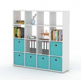 Sconto Regál/knižnica LITE RM44 biela