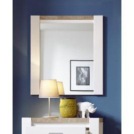 Sconto Zrkadlo MELLY biela/dub westminster