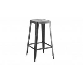 Sconto Barová stolička IRON natur/železo