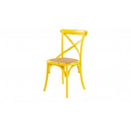 Sconto Jedálenská stolička XABI žltá