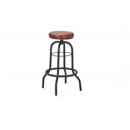 Sconto Barová stolička LONDOS hnedá/čierna