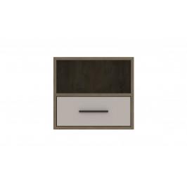 Sconto Nočný stolík MITO MI8 dub endgrein/biela