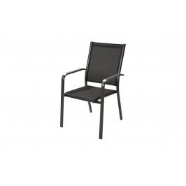 Sconto Záhradná stolička AMICO sivá/antracit
