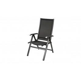 Sconto Polohovacia stolička AMICO sivá/antracit