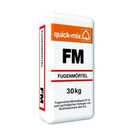 Škárovacia hmota Quick-mix FM tmavo šedá 30 kg CG2W QMFMTSE