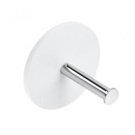 Držiak toaletného papiera Decor Walther Stone biela / chróm 0974454
