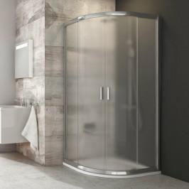 Sprchový kút Ravak Blix štvrťkruh 90 cm, nepriehľadné sklo, chróm profil BLCP490GBR