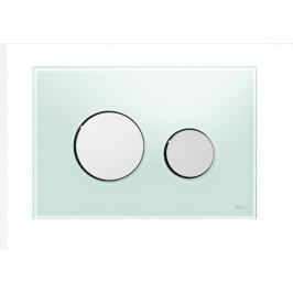 Ovládacie tlačidlo Tece Loop sklo, zelená 9.240.653