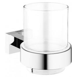 Grohe Držiak pohárikov Essentials Cube, chróm G40755001