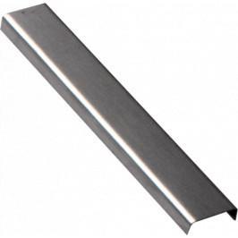 Lišta dekoračná nerez kartáčovaná, dĺžka 200 cm, výška 6,5 mm, šírka 20 mm, LACERO22