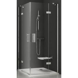 Sprchový kút Ravak Serie 700 štvorec 90 cm, sklo číre, chróm profil SMSRV490TCR