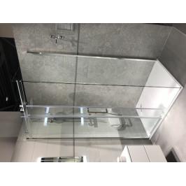 Sprchový kút Anima T-Linea obdĺžnik 120 cm, sklo číre, chróm profil TL12080TLSET