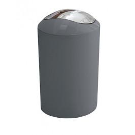 Odpadkový kôš voľne stojaci Kleine Wolke Glossy 5 l antracit 5063901858