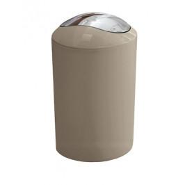 Odpadkový kôš voľne stojaci Kleine Wolke Glossy 5 l svetlo béžová 5063271858