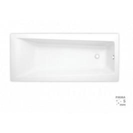 Obdĺžniková vaňa Laguna Idea Plus 150x75 cm, 100% akrylát, 180 l ID1500PLUS