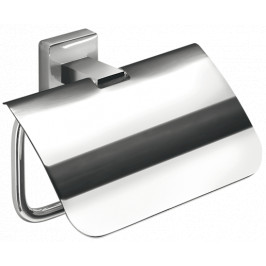 Inda Držiak toaletného papiera Cubo nástenné, hranatý A2926ACR