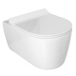 Glacera ALFA závěsné WC rim-ex, skryté uchycení AL010
