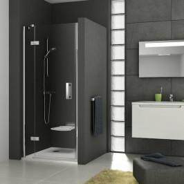 Sprchové dvere Ravak Serie 700 jednokrídlové 90 cm, sklo číre, chróm profil, ľavé SMSD290TCRLB