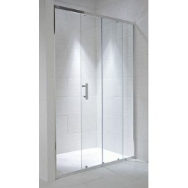 Sprchové dvere 120x195 cm Jika Cubito Pure chróm lesklý H2422440026681