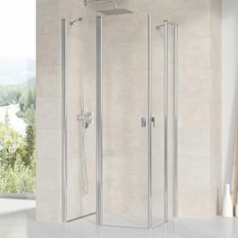 Sprchové dvere Ravak Chrome jednokrídlové 100 cm, sklo číre, chróm profil CRV2100TCR