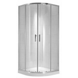 Sprchový kút Jika štvrťkruh 80 cm, sklo číre, chróm profil 5324.1.002.668.1